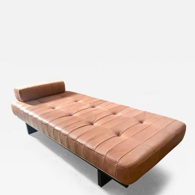 de Sede Vintage De Sede DS 80 Patchwork Leather Daybed Switzerland 1960s
