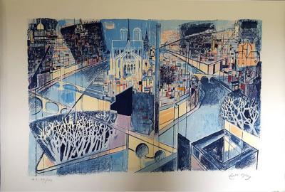 douard Georges Mac Avoy douard Georges Mac Avoy Original Handsigned Lithograph Ecole de Paris