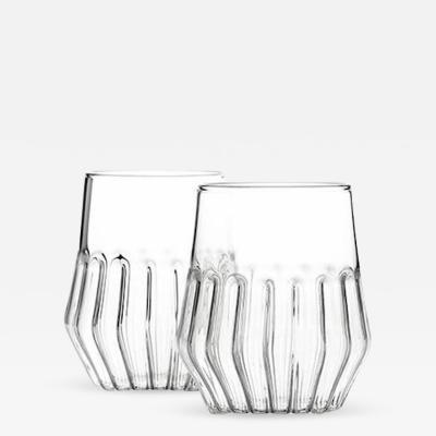 fferrone MIXED MEDIUM GLASS SET OF 2