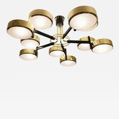 form A Eclissi Grande Ceiling Light Murano Glass Version