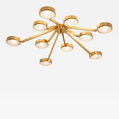 form A Oculus Articulating Ceiling Light Murano Glass Version