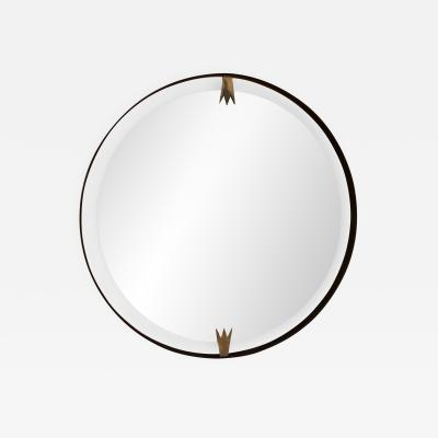 ma 39 Ma39 Giant Iron Round Wall Mirror