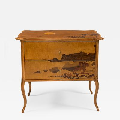 mile Gall Art Nouveau Commode by mile Gall