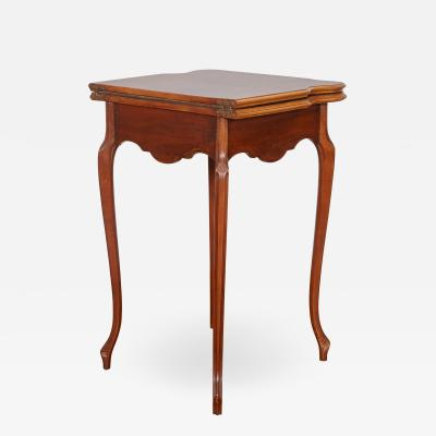 mile Gall French Art Nouveau game table by Emile Galle