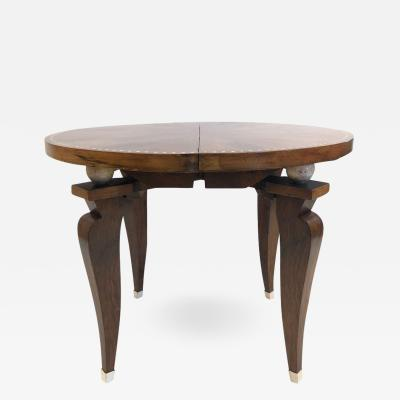 mile Jacques Ruhlmann 1930s French Art Deco Adjustable Table
