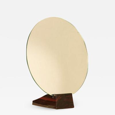 mile Jacques Ruhlmann Emile Jacques Ruhlmann Macassar Ebony Mirror Art Deco 1930