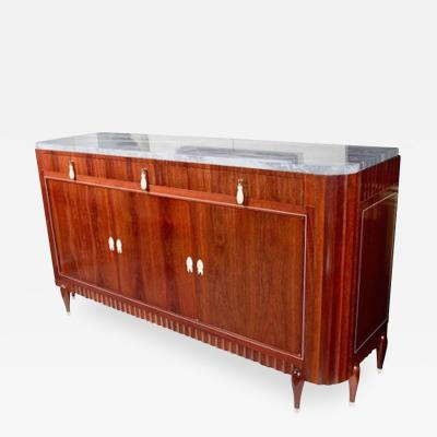 mile Jacques Ruhlmann Exceptional Art Deco Rosewood Buffet