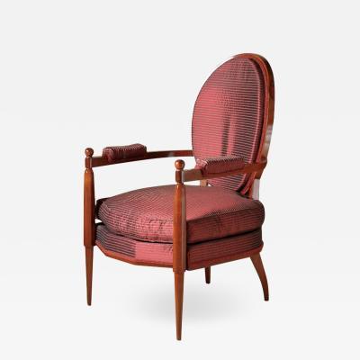 mile Jacques Ruhlmann Ruhlmann Napoleon Armchair