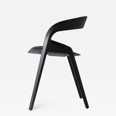 ndio da Costa Contemporary Pris Chair in Jequitib Wood by Brazilian Designer