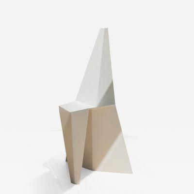 nea studio Crystallised Chair powder coated