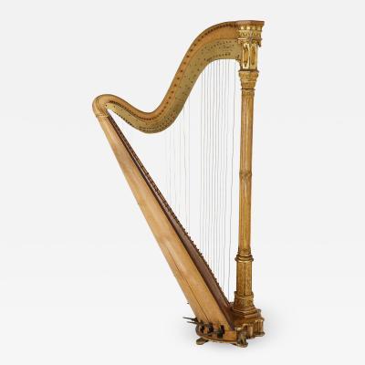 rard Antique Gothic Revival harp by Erard