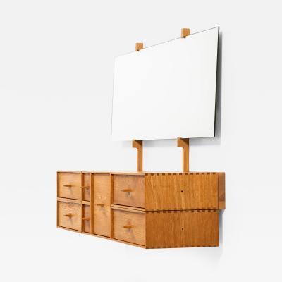 sten Kristiansson Vanity Table Model Luxus Combi Produced by Luxus