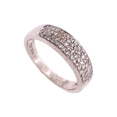 14 Karat White Gold Diamond Bridal Ring 1 00 TDW