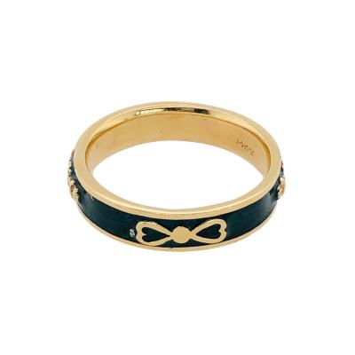 14 Karat Yellow Gold Fashion Ring