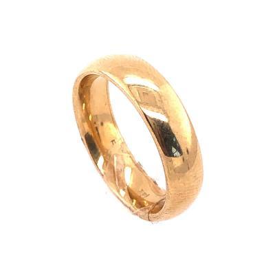 14 Karat Yellow Gold Wedding Band Ring
