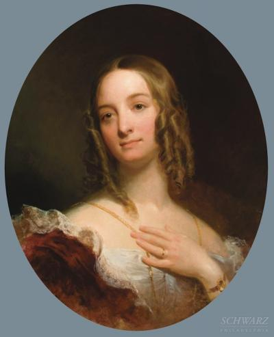 Emanuel Gottlieb Leutze Portrait of Alice Anna Morris 1823 1901