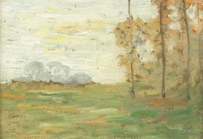Robertson Kirtland Mygatt Three Tree in a Field