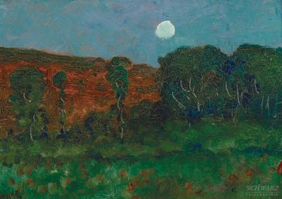 Robertson Kirtland Mygatt Moonlit Woods