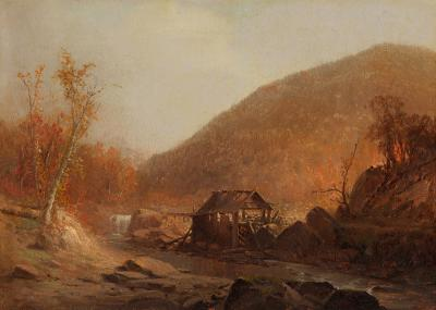 Jervis McEntee The Old Mill
