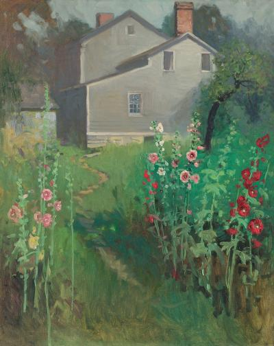 Victor Coleman Anderson Hollyhock Time