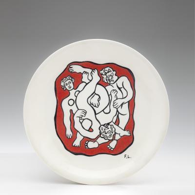 Fernand Leger Ceramic Plate 1950s
