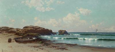 Alfred Thompson Bricher Afternoon by the Ocean