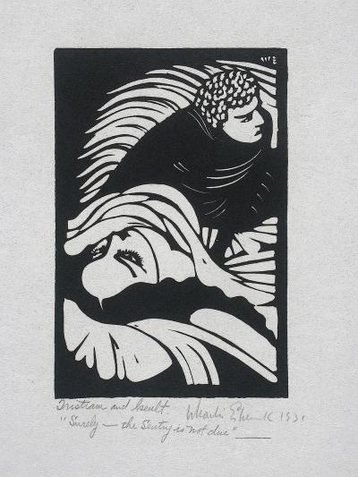 Wharton Esherick Tristram and Iseult Surely the Sentry is Not Due c 1931