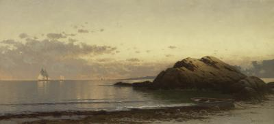 Alfred Thompson Bricher New England Coast