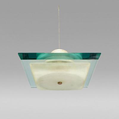Fontana Arte Ceiling Lamp Fontana Arte Italy c 1960