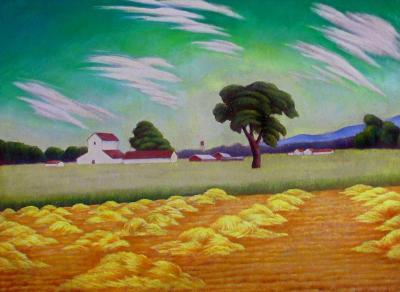 John Mottram Half Cut Hay 1936