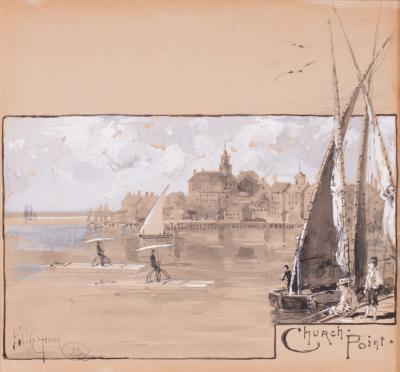 Childe Hassam Church Point Portsmouth