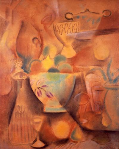 Max Weber Abstract Still Life c 1914