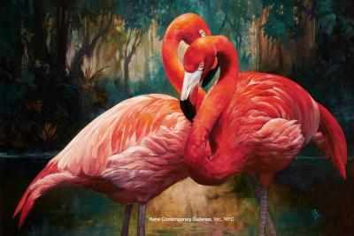 Julie Bell Flamingos