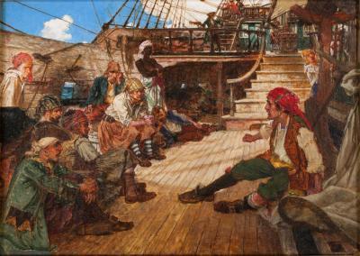 Arthur David McCormick A Pirates Discussion c 1919
