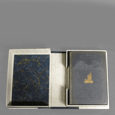 Herman Melville Omoo by Herman Melville First Edition in Hard Slip Cover Case c 1847