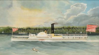 Folk Art Marine Paintings