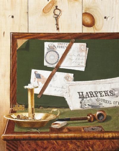 George Cope Harper s Weekly c 1892