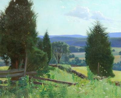 Frank Von Der Lancken Valley in Summer c 1907