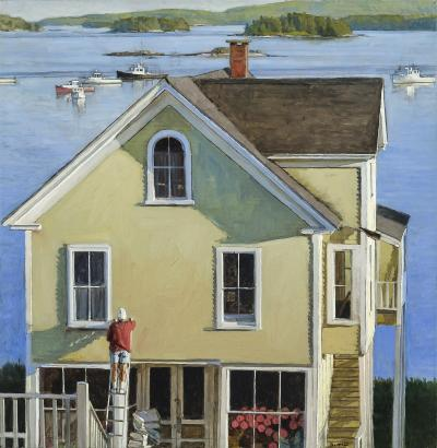 Peter Poskas House Painter Stonington c 2014