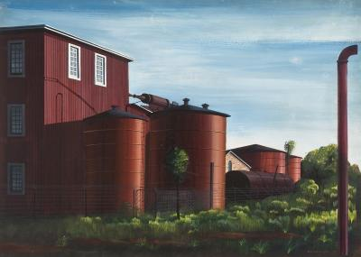Edmund D Lewandowski Farm Buildings c 1940