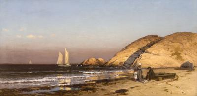 Alfred Thompson Bricher Well Rock Scituate Massachusetts c 1878