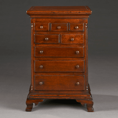 Miniature Chest of Drawers circa 1829