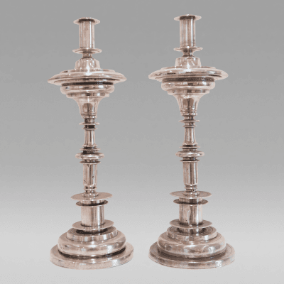 Pair of Candlesticks c 1750