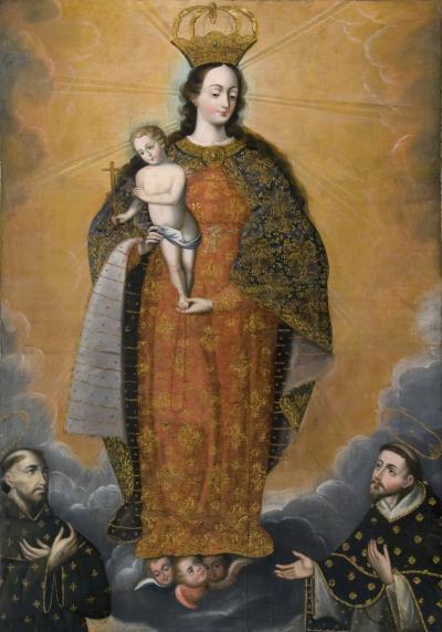 Diego Quispe Tito La Virgen Immaculada c 1675