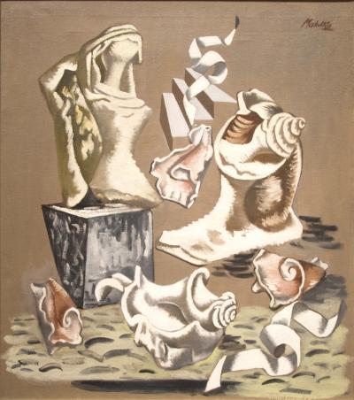 Jan Matulka Broken Shells and Torso c 1936