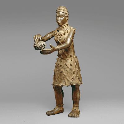 Standing Trickster Figure