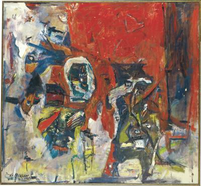 Paul Harry Paul Burlin Red Red Not the Same II c 1962