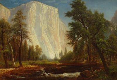 Gilbert Davis Munger El Capitan Yosemite 1876