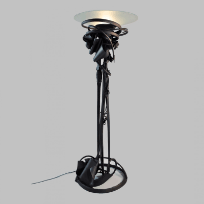 Albert Paley Dragon s Back Floor Lamp c 2006