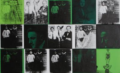 Andy Warhol Sidney Janis c 1967